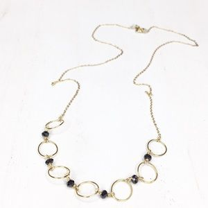 Jewelry - Black spinel necklace